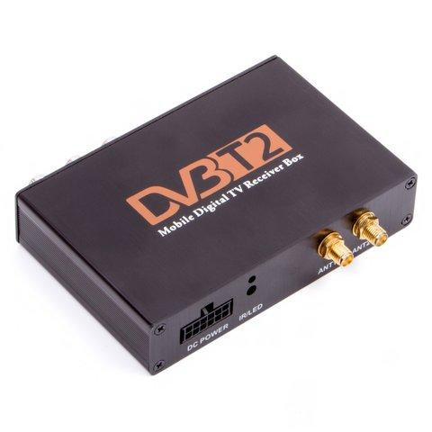 Автомобильный цифровой тюнер DVB T2 HEVC