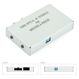 MOST Video Interface for Mercedes Benz and Porsche BOS MI013