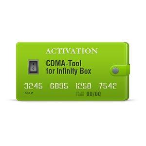 Infinity CDMA-Tool Activation