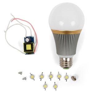 LED Light Bulb DIY Kit SQ-Q23 E27 7 W – warm white