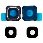 Camera Lens compatible with Samsung G928 Galaxy S6 EDGE Plus, (dark blue)