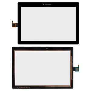 Touchscreen for Lenovo Tab 2 10-30L LTE Tablet, (black)