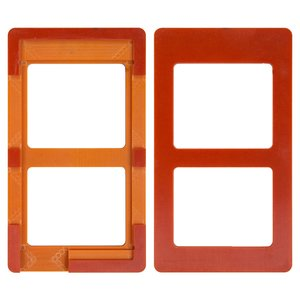 LCD Module Mould for Meizu MX3 Cell Phone, (for glass gluing )