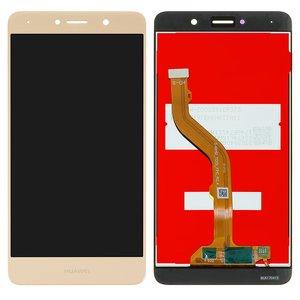 LCD compatible with Huawei Y7 (2017), (golden, with touchscreen, Original (PRC), TRT-LX1/TRT-LX2/TRT-L21/TRT-TL00/TRT-L53/TRT-L21A)