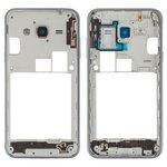 Parte media de carcasa puede usarse con Samsung J310 Galaxy J3 (2016), J320H/DS Galaxy J3 (2016), negra