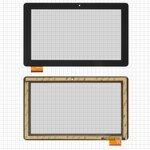 "Cristal táctil para tablet PC China-Tablet PC 10,1""; Prestigio MultiPad Wize (PMT3111), 10,1"", 159 mm, 262 mm, 60 pin, capacitivo, negro, #MB1019Q5/HC261159A1/FPC017H V2.0"