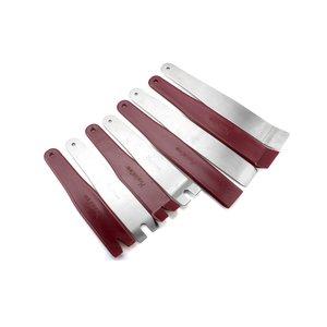 Juego de herramientas para tapicería (poliuretano/acero inoxidable, 8 uds.)