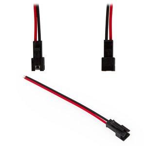 Соединительный кабель 2-контактный JST для светодиодных лент SMD3528/2835, female-разъем (