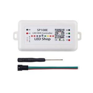 Контроллер с Wi-Fi-управлением SP108E (RGB, 5-24 В)