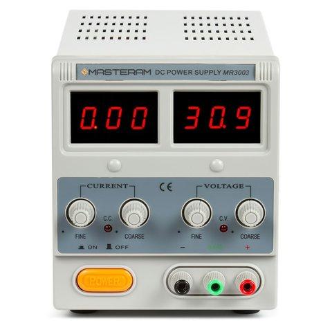 Лабораторний блок живлення Masteram MR3003