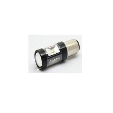 LED лампа гальмування заднього ходу UP 7G 1156FWB 30W(BA15S  біла, 12 24 В