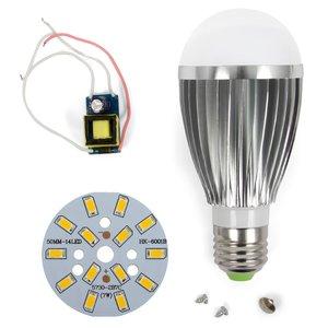 Комплект для збирання LED-лампи SQ-Q03 5730 E27 7 Вт – теплий білий
