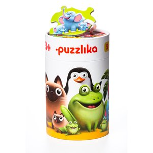 Puzzlika 5 in 1 Jigsaw Puzzle Together With a Child
