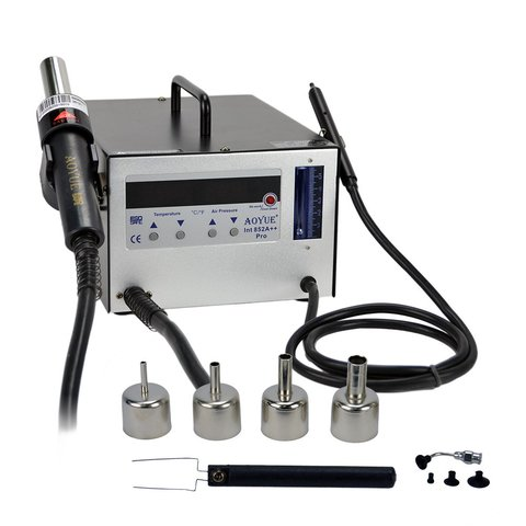 Hot Air Rework Station AOYUE 852A++ with Vacuum Pick up
